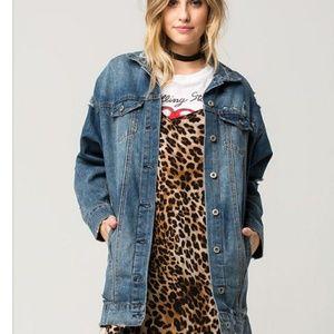 Higheay oversized denim jacket